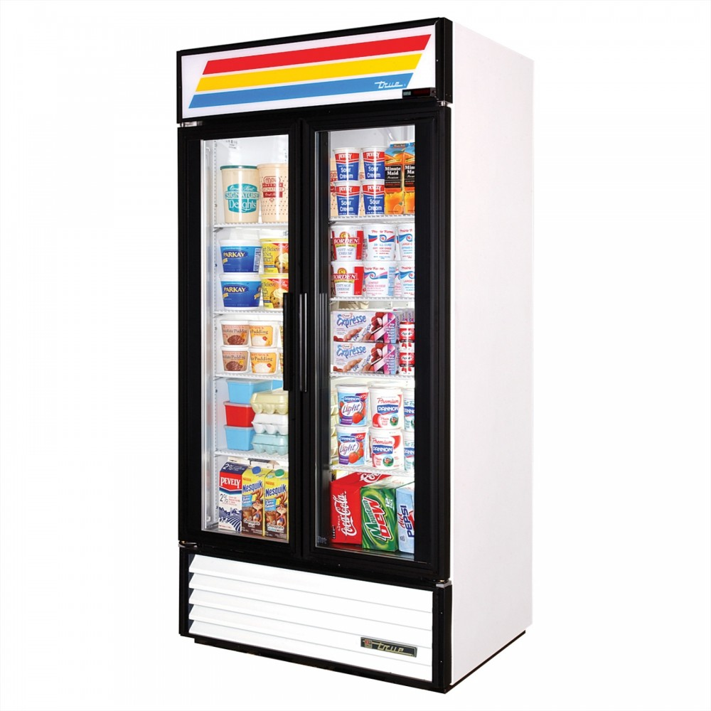 True Gdm 35 Double Door Display Refrigerator