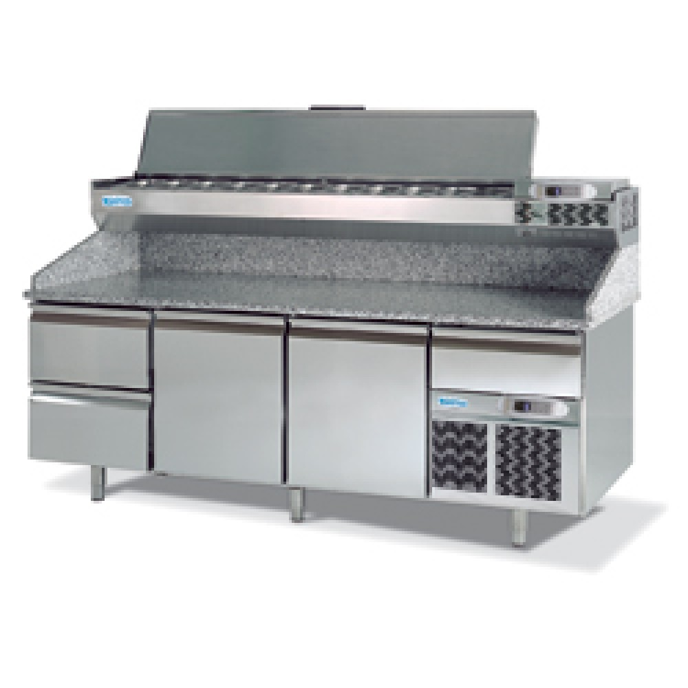infrico mp cn pizza prep table 800