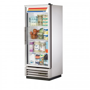 True T-12G single glass door commercial refrigerator