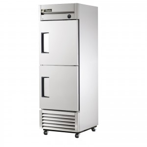 True T-23-2 single half-door commercial refrigerator