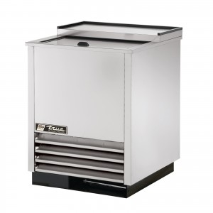 True  T-24-GC-S stainless steel plate and glass cooler
