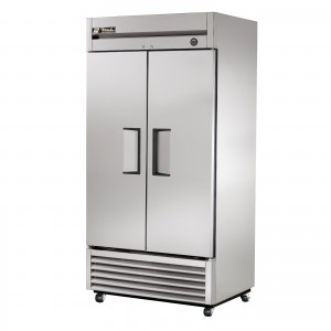 True T-35 double door commercial refrigerator