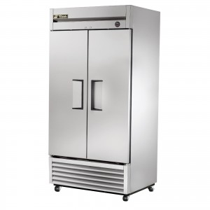 True T-35FZ double door commercial freezer