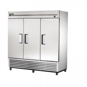 True T-72F triple door commercial freezer
