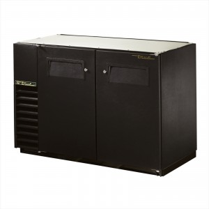 True TBB-24GAL-48 back bar cooler with solid doors
