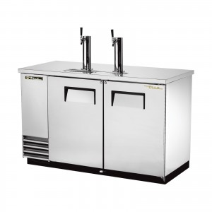 True TDD-2-S stainless steel direct draw beer dispenser