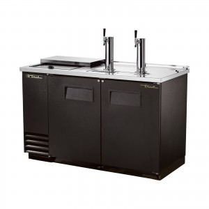 True TDD-2CT club top direct draw beer dispenser