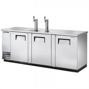 True TDD-4-S stainless steel direct draw beer dispenser