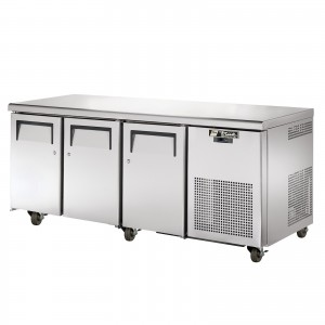 TRUE TGU-3 three-door refrigerator counter