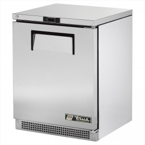 True TUC-24 one-door under counter prep table refrigerator