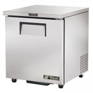 True TUC-27 one-door under counter prep table refrigerator