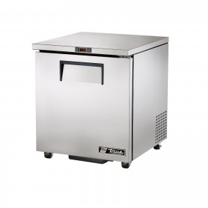 True TWT-27F one-door worktop prep table freezer