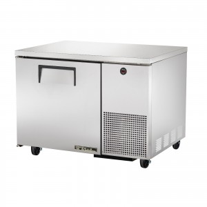 True TUC-44 one-door deep under counter prep table refrigerator