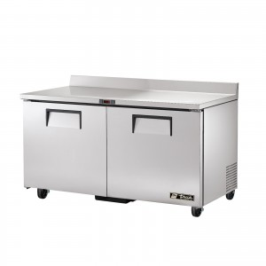 True TWT-60 two-door worktop prep table refrigerator