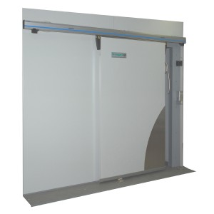 2000mm x 2500mmh sliding freezer room door