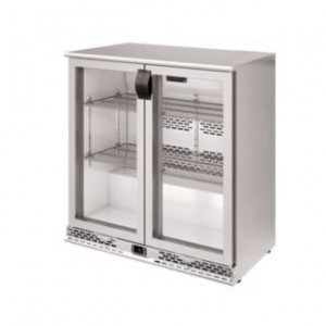 Infrico ERV 25 II Stainless Steel Back-bar Bottle Cooler 110v/60Hz
