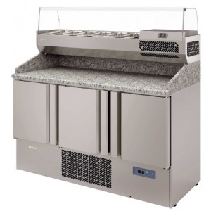 Infrico ME 1003 VIP Pizza Prep Table 700 GN 1/1