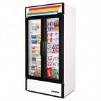 True GDM-35 double door display refrigerator