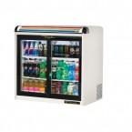 True GDM-9E back bar cooler with sliding glass doors