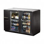 True TBB-24GAL-48G back bar cooler with glass doors