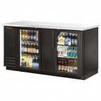 True TBB-3G back bar cooler with glass doors