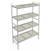 Italmodular 4 tier storage shelving