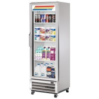 TRUE T-15G reach-in refrigerator, one glass door