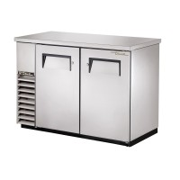 TRUE TBB-24-48-S back bar compact cooler with stainless steel exterior