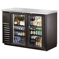 TRUE TBB-24-48G back bar compact cooler with glass doors