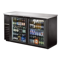 TRUE TBB-24-60G back bar compact cooler with glass doors