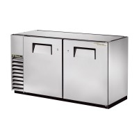 TRUE TBB-24GAL-60-S back bar compact cooler with stainless steel exterior