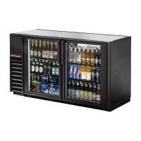 TRUE TBB-24GAL-60G back bar compact cooler with glass doors
