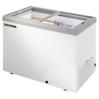 TRUE TFM-41FL glass lid horizontal freezer