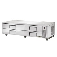 TRUE TRCB-82 refrigerated chef base table