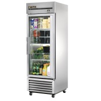 TRUE TS-23G reach-in refrigerator, one glass door