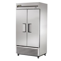 TRUE TS-35F reach-in freezer, two stainless steel doors