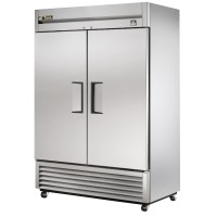 TRUE TS-49F reach-in freezer, two stainless steel doors
