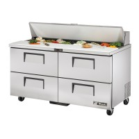 TRUE TSSU-60-16D-4 sandwich or salad unit drawered refrigerator