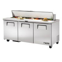 TRUE TSSU-72-18 sandwich or salad unit refrigerator