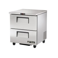 TRUE TUC-27F-D-2 drawered undercounter freezer