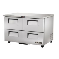 TRUE TUC-48D-4 drawered undercounter refrigerator