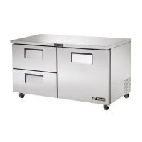 TRUE TUC-60D-2 drawered undercounter refrigerator