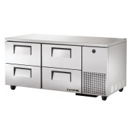 TRUE TUC-67D-4 deep drawered undercounter refrigerator