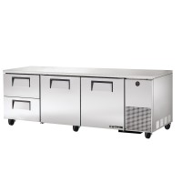 TRUE TUC-93D-2 deep drawered undercounter refrigerator