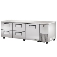 TRUE TUC-93D-4 deep drawered undercounter refrigerator