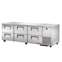 TRUE TUC-93D-6 deep drawered undercounter refrigerator