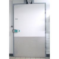 800mm x 2000mmh hinged freezer room door
