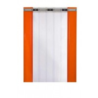 1400mm x 2000mmh fixed strip curtain for cold room