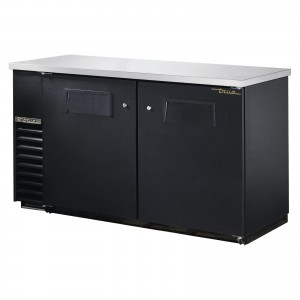 True TBB-24-60 back bar cooler with solid doors
