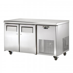TRUE TGU-2 two-door refrigerator counter